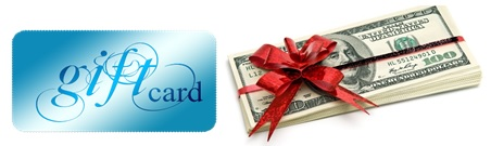 money and gift cards